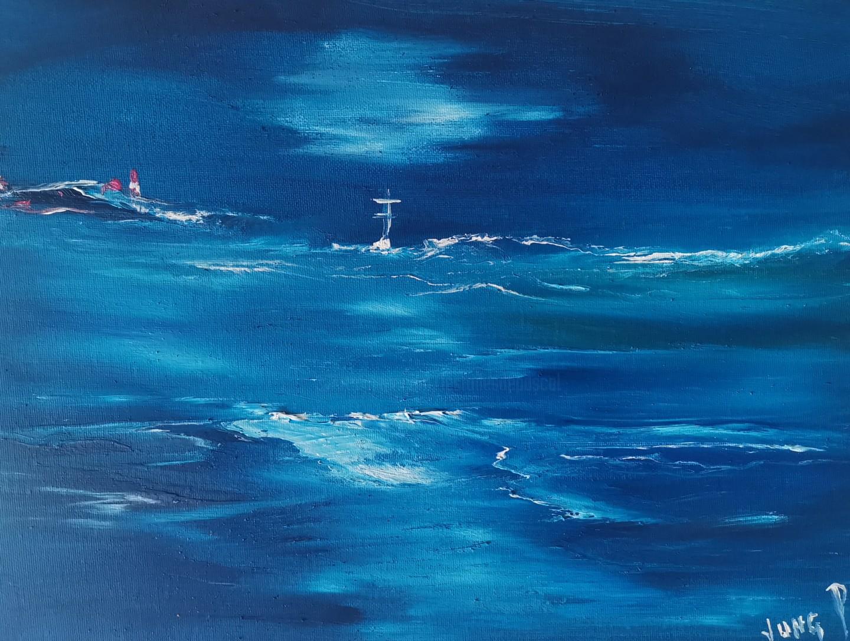 Pascal Jung - Pnl# on blue