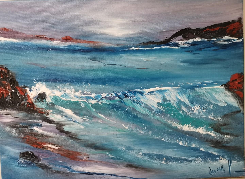 Pascal Jung - Cascade en mer